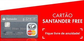 Como solicitar um cartão de crédito Santander Free