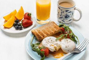 Aumentar o metabolismo - Tome seu cafe da manha